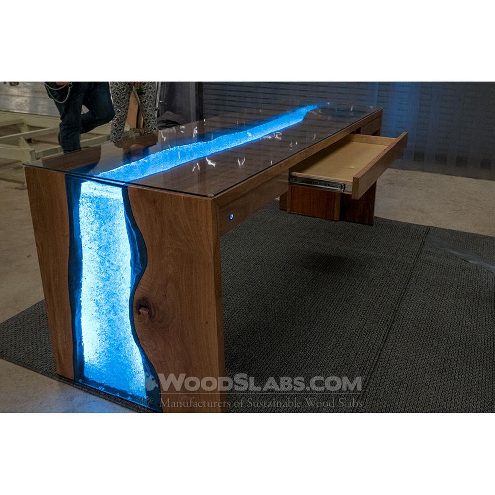 Woodslabscom Australian Beefwood Wood Slab Table