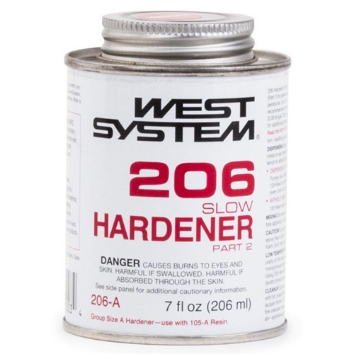 0.44 Pint West System 206-A Slow Hardener