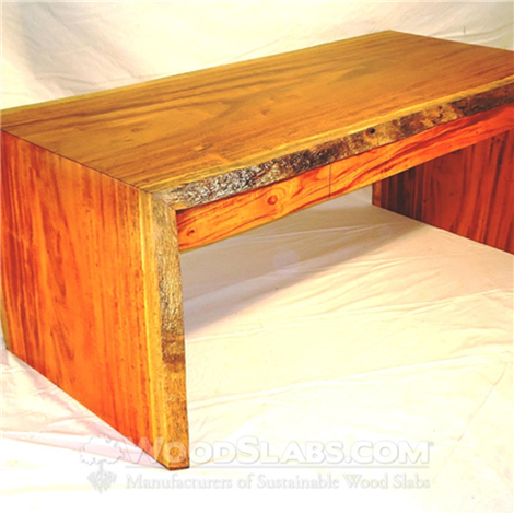 Featured Project: Tigerwood Slab Desk