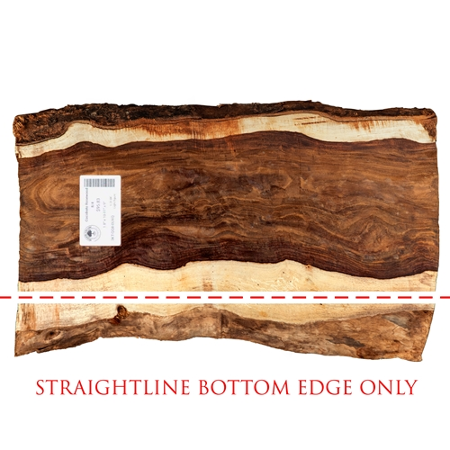 Straight Line Bottom Edge (as shown in picture 1) 0-16 BF