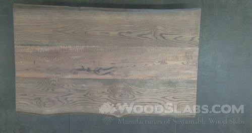 White Oak Wood Slab #NGS-UWG-FWPV