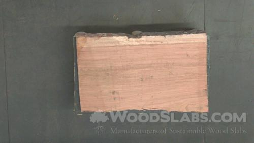 Brazilian Cherry Wood Slab #63P-C3E-4BBI