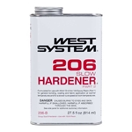 0.86 Quart West System 206-B Slow Hardener