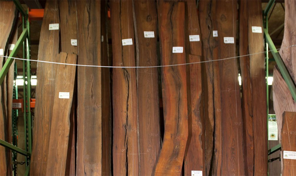 cocobolo wood slabs