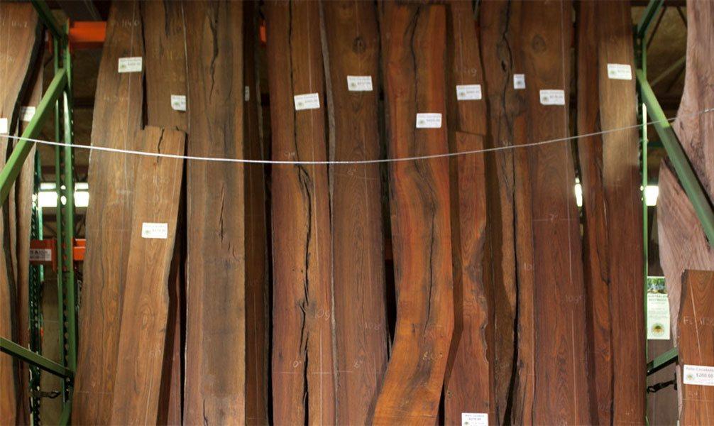 cocobolo wood slabs