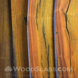 cocobolo wood slab