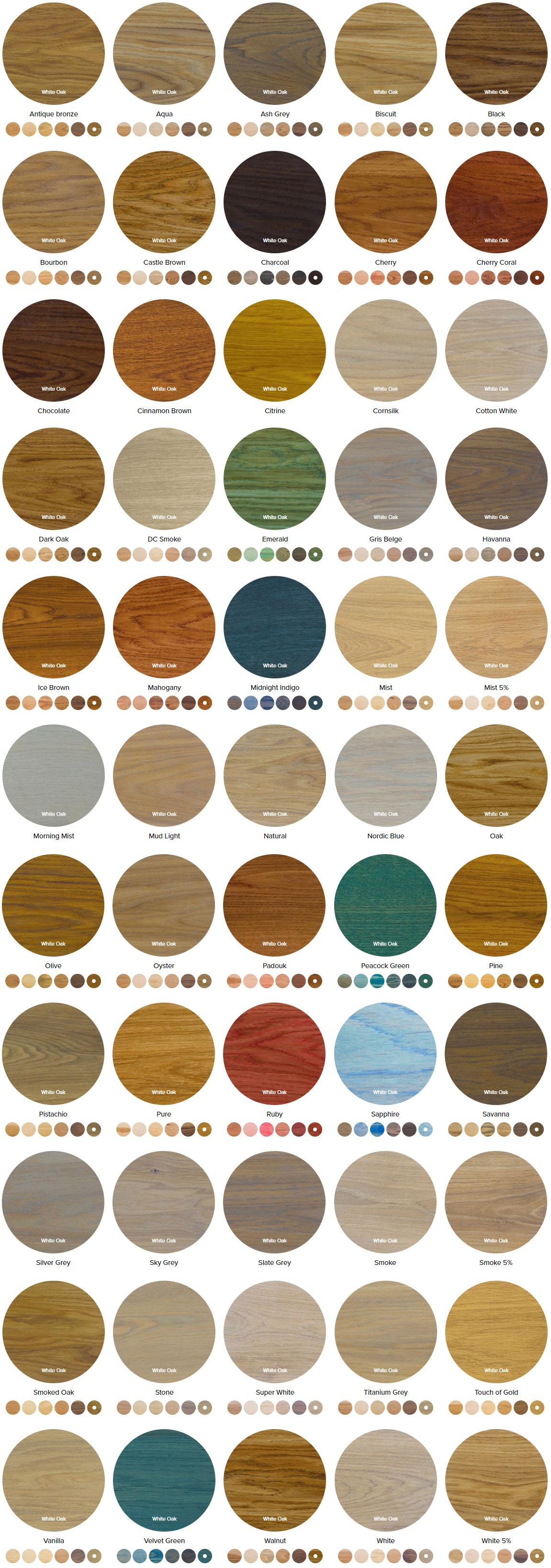 rubio interior colors